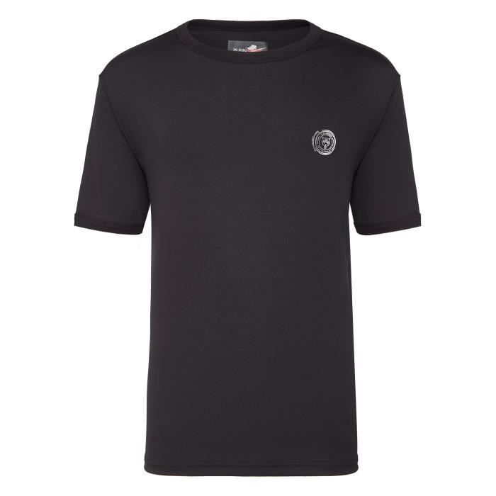 PLEIN SPORT Tshirt - Black - For Men - édition -Performance- - Référence : MTK2605SJY001N02