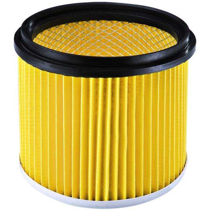 Filtre cartouche pour aspirateur bidon.Hauteur 14 cm. diamètre intérieur = 14.5 cm.