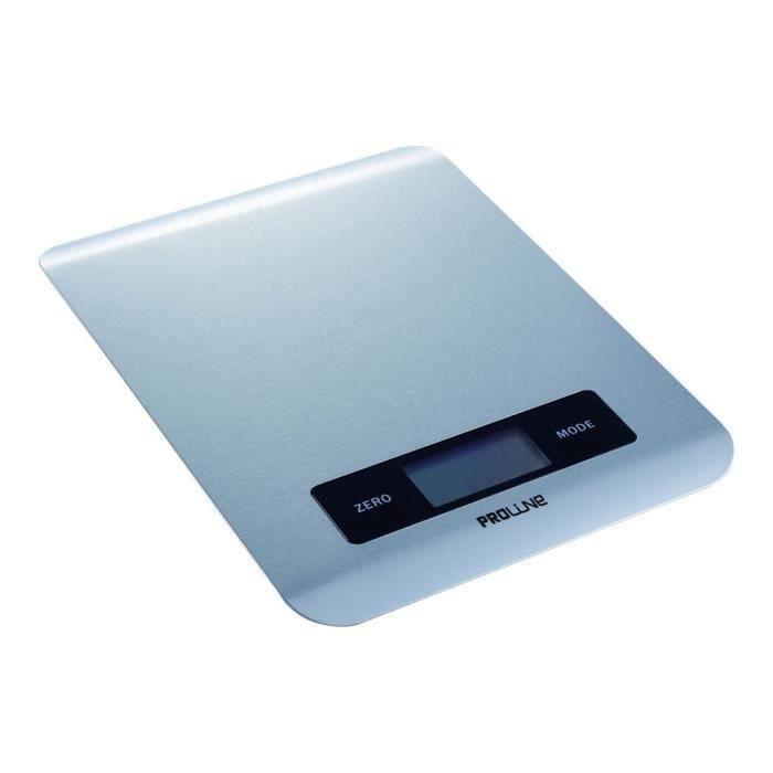 Proline KS2 Balance de cuisine acier inoxydable