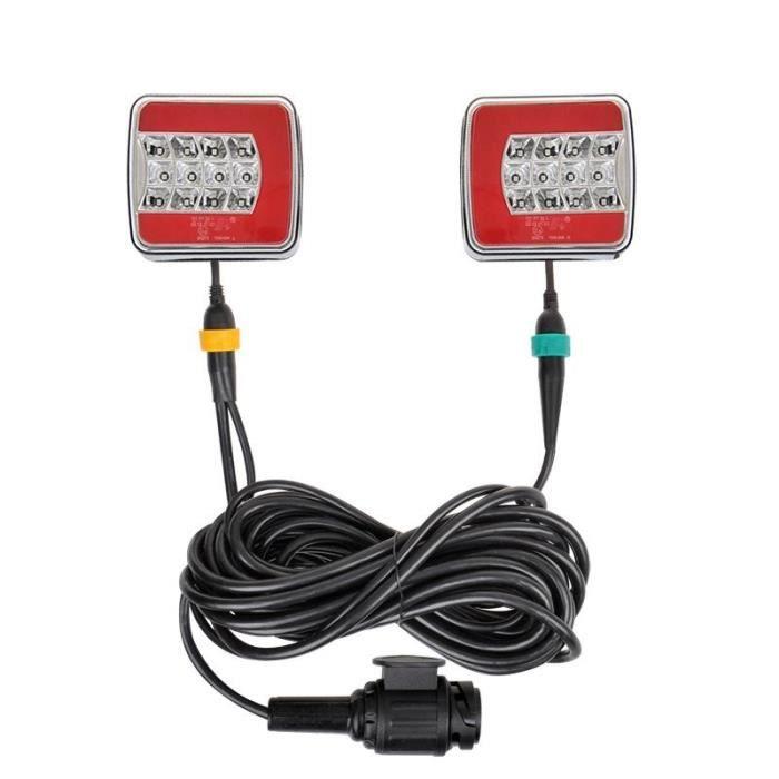 ProPlus kit d'éclairage LED magnétique 250 cm 13 pôles