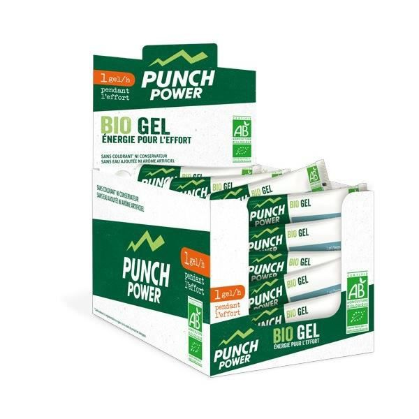 PUNCH POWER SPEEDGEL FRUITS ROUGES - PRÉSENTOIR 40 GELS