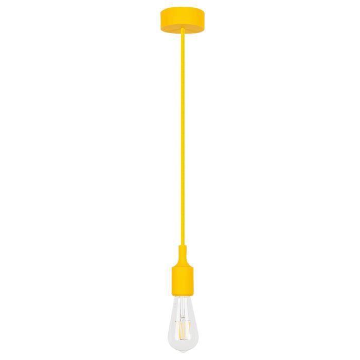 Lampes RABALUX Roxy • Appliques et plafonniers, suspensions • Couleur: jaune • Matériel: silicone • Ref: 1413