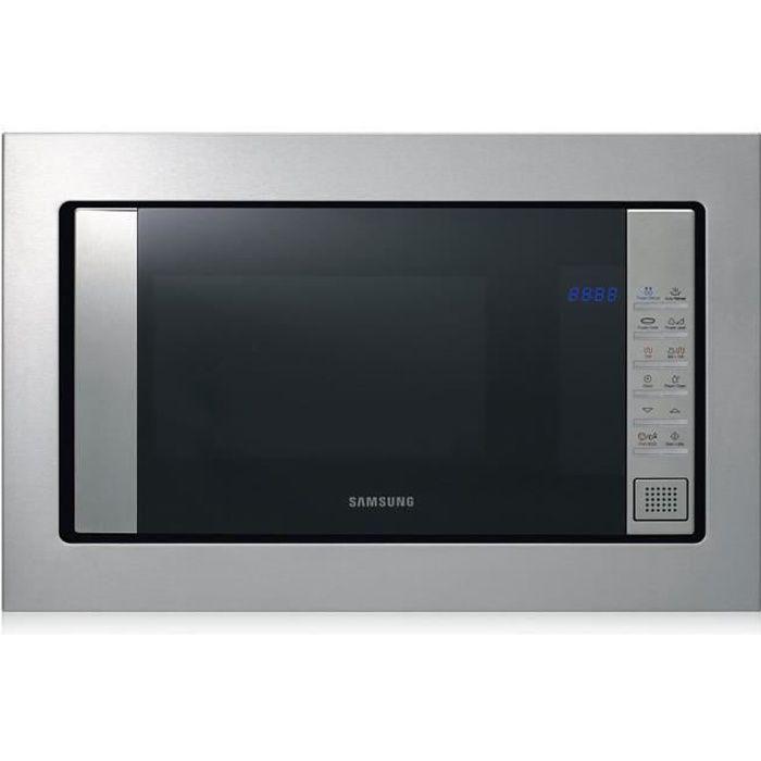 Samsung FG87SUST, Intégré, 23 L, 800 W, Toucher, Acier inoxydable, Bouton