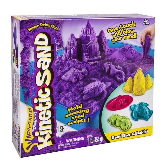 Kinetic Sand Box Set de château de sable