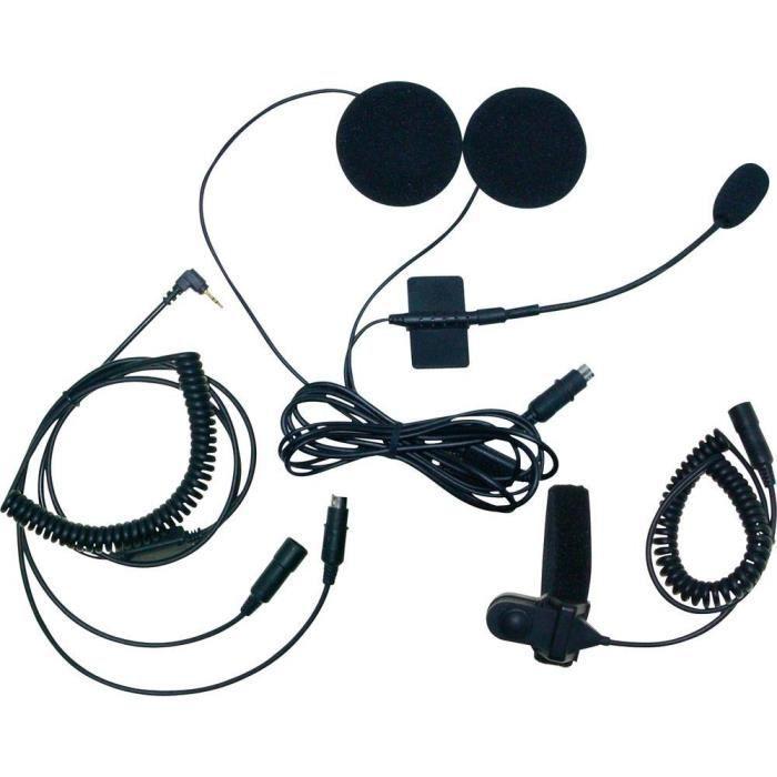 Set d'intercom pour casque moto Stabo MHS-650