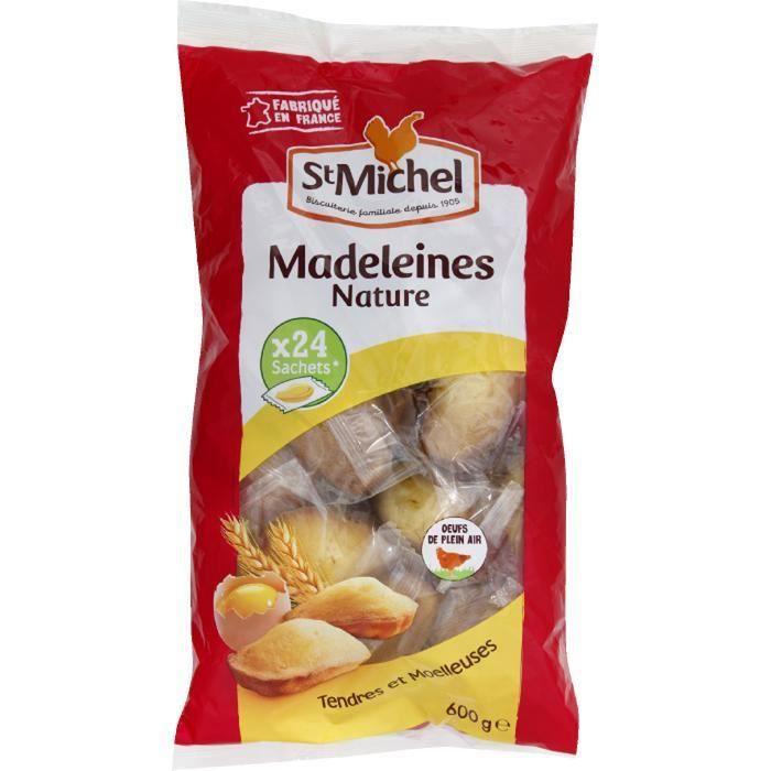 ST MICHEL BISCUITS Madeleines coquille - 600 g