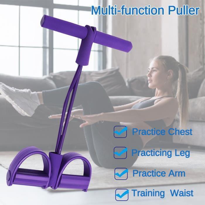 TEMPSA Bandes de Résistance Corde élastique Multifonctionnelle Sit-up Physique Gym Fitness