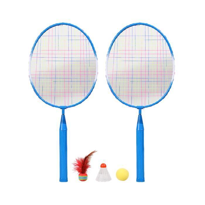 1 Set Raquettes De Badminton Enfants Outil Formation Sports Plein Air Jouant Jouet RAQUETTE DE BADMINTON - CADRE DE BADMINTON