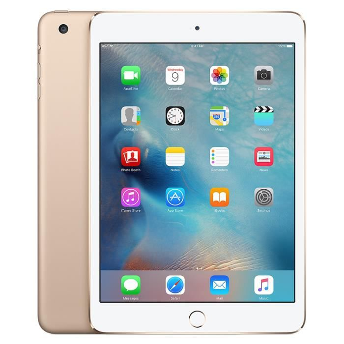 VITRE POUR TABLETTE Apple iPad Mini 3 Tablette 64 Go Wi-Fi Or