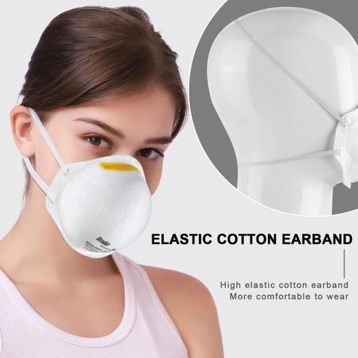 masque facial anti virus