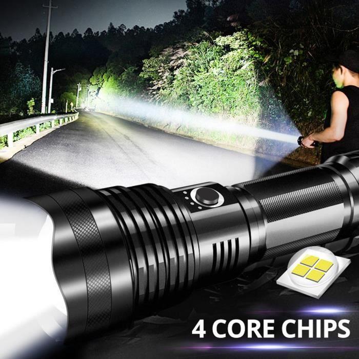 Bright Star rechargeable lampe de poche LED avec faisceau électrique