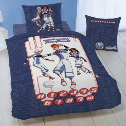 housse de couette galactik football 1 taie achat vente parure de lit cdiscount. Black Bedroom Furniture Sets. Home Design Ideas