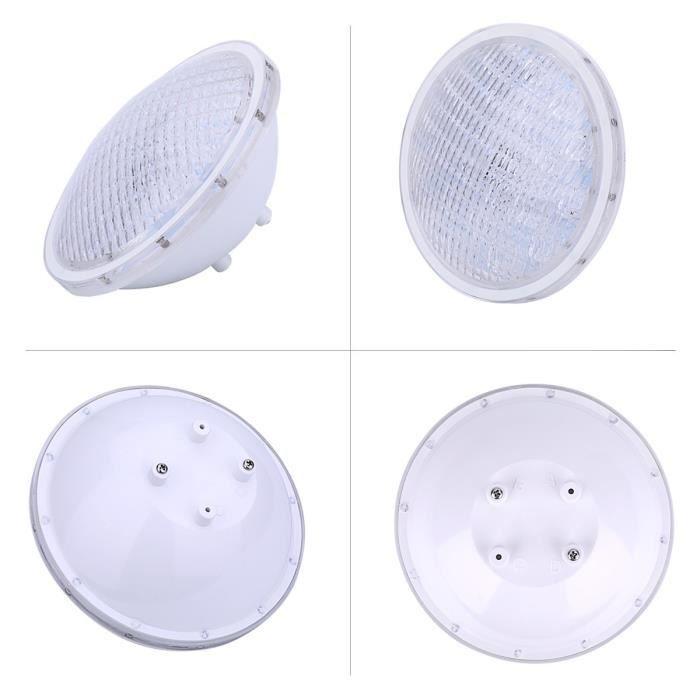 COOLWEST RGBW PAR56 Lampe de Piscine Lumi/ère LED 18W 12V DC//AC Etanche IP68 /Éclairage sous-Marin contr/ôle par t/él/écommande