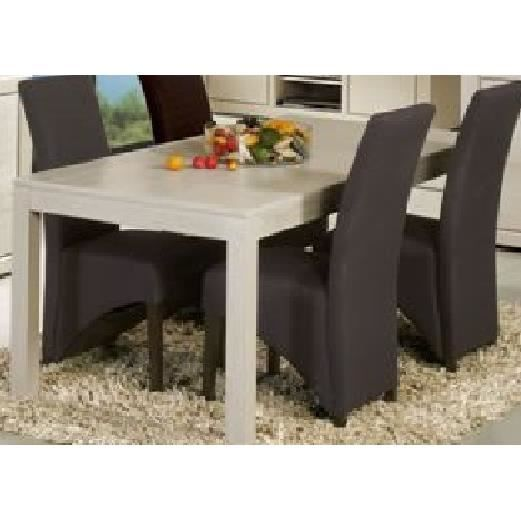 Table de salle manger salvador l 190 x p 90 x h 75 cm for Table salle a manger 250 cm