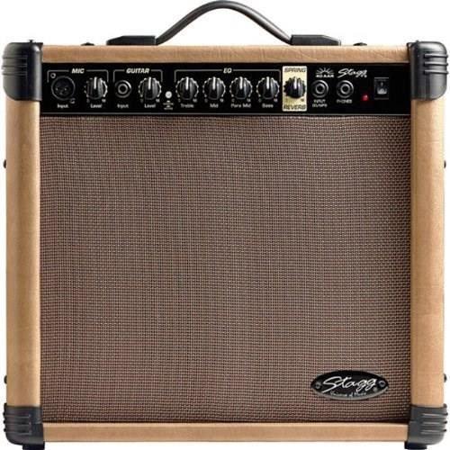 AMPLIFICATEUR STAGG Ampli Guitare Acoustique 40 W RMS