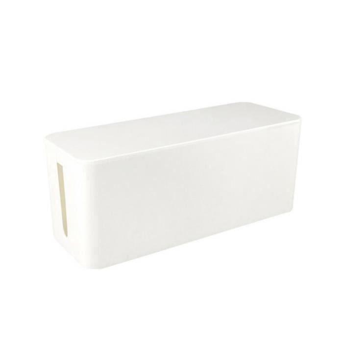 CACHE PRISES - CÂBLES Ordinateur Moyeu USB Prise de courant Boîte de câb