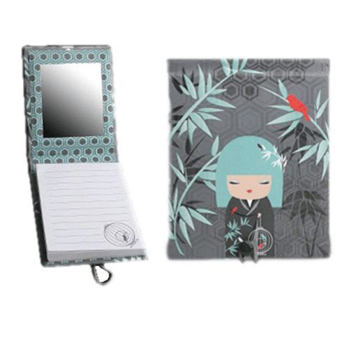 petit carnet de note avec miroir kimmidoll nagisa achat. Black Bedroom Furniture Sets. Home Design Ideas