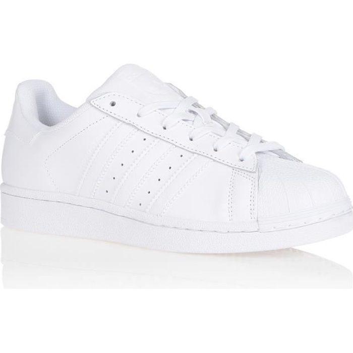 Basket blanche adidas femme - Cdiscount