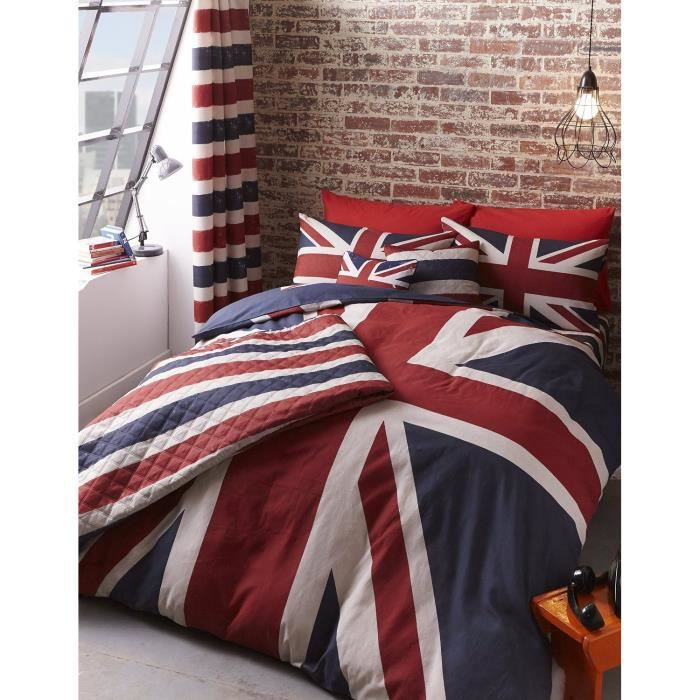 parure de lit london londres finest achat vente parure de drap cadeau. Black Bedroom Furniture Sets. Home Design Ideas