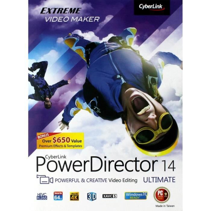 BUREAUTIQUE POWER DIRECTOR 14 ULTIMATE - PC