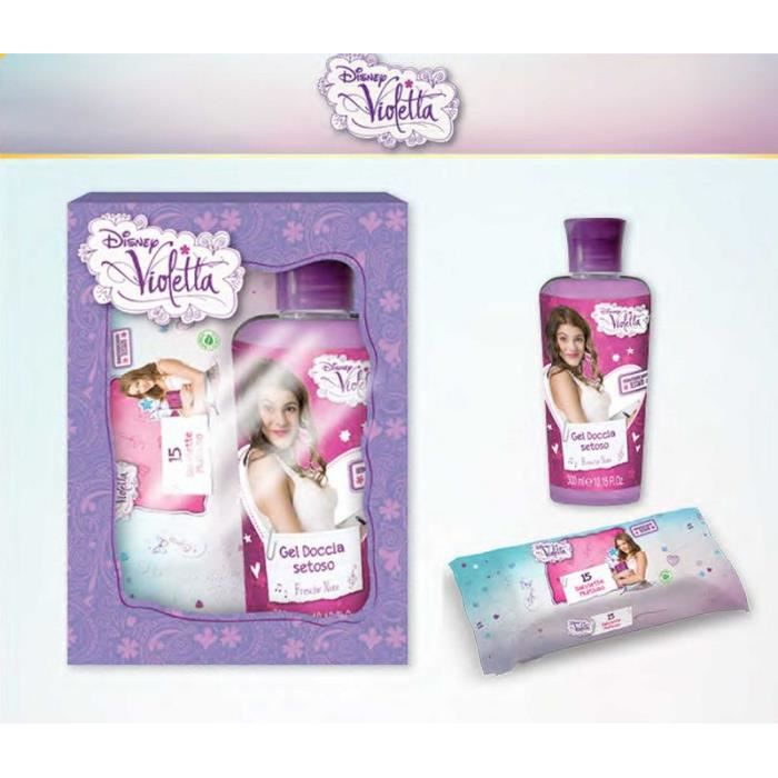 violetta disney coffret cadeau bain douche achat vente coffret cadeau corps violetta. Black Bedroom Furniture Sets. Home Design Ideas