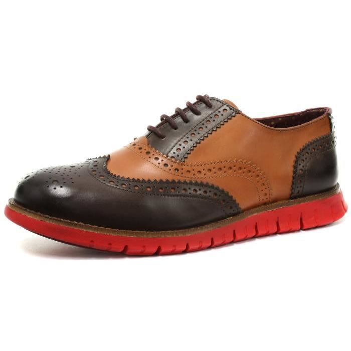 London Brogue richelieus Gatz Homme Oxford Mocassin