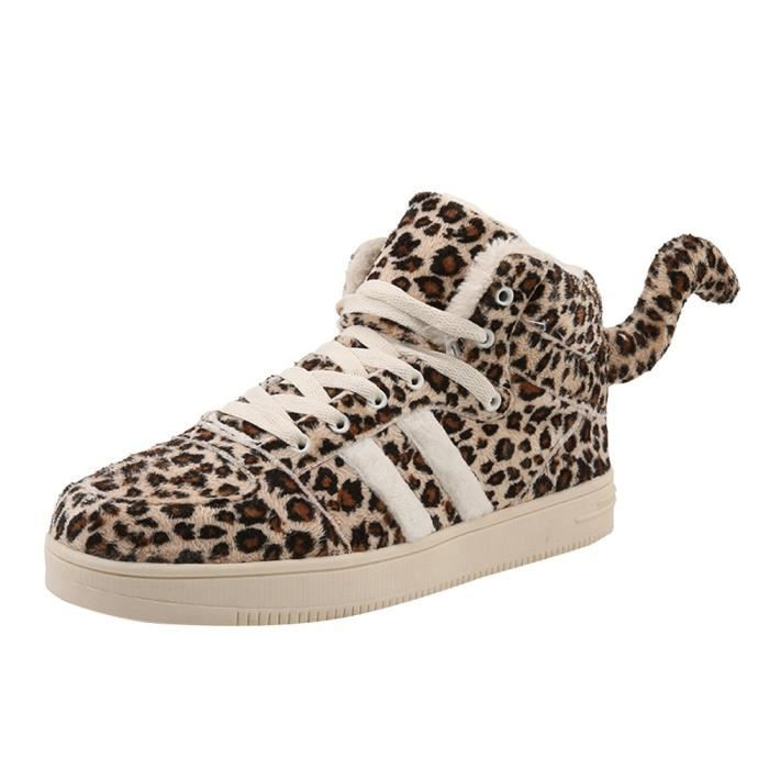 chaussure adidas leopard avec queue