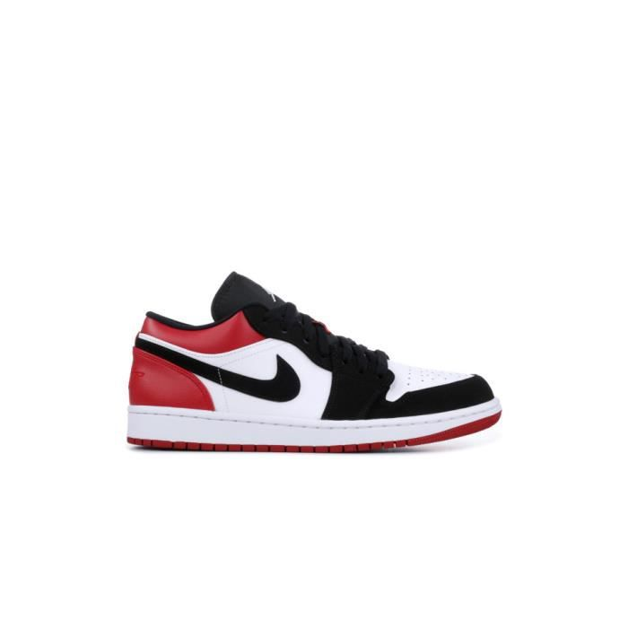 air jordan 1 low rouge et blanc