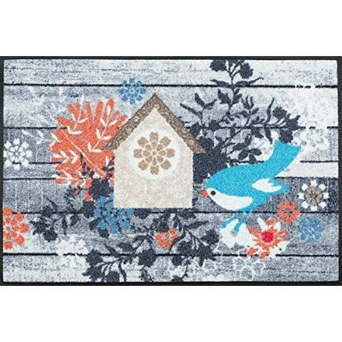 Wash dry 068136 birdies house tapis nylon caoutchouc for Tapis cuisine wash and dry