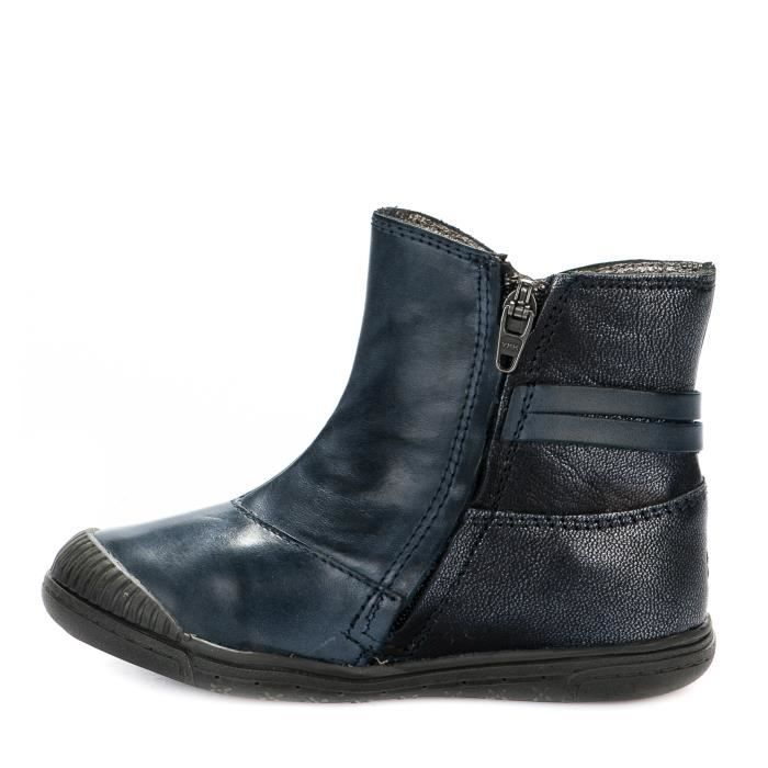 Boots fille - NOEL - Bleu marine - PATTY