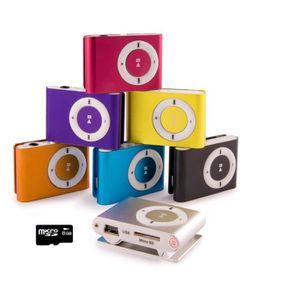 LECTEUR MP3 gNg Argent Mini lecteur MP3 player Clip pour la co