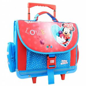CARTABLE Cartable à roulettes Minnie Love 41 CM Haut de Gam
