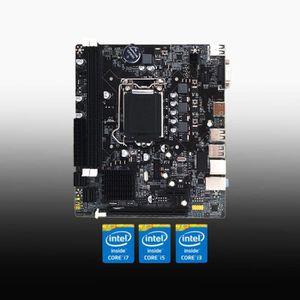 CARTE MÈRE 1155 Pin CPU CUP Interface USB3.0 Ordinateur de Bu