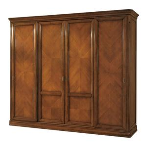 armoire 4 portes coulissante achat vente armoire 4. Black Bedroom Furniture Sets. Home Design Ideas