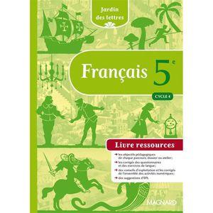 Livre De Francais 5eme