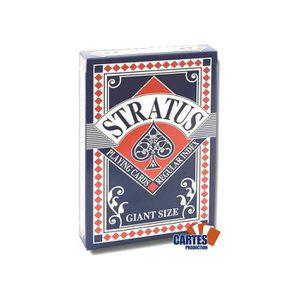CARTES DE JEU Stratus Grand format - Jeu de 52 cartes cartonnées