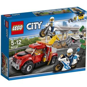 ASSEMBLAGE CONSTRUCTION LEGO® City 60137 La Poursuite du Braqueur