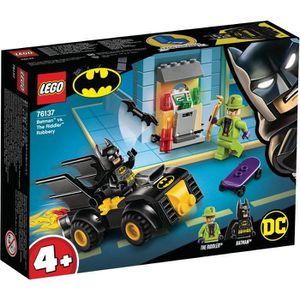 ASSEMBLAGE CONSTRUCTION LEGO® 4+ DC Comics Super Heroes 76137 Batman™ et l
