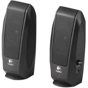 ENCEINTES ORDINATEUR Logitech S-120 Haut-parleurs pour PC 2.3 Watt (Tot