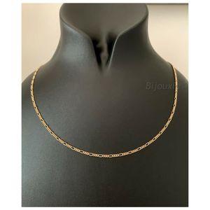 /Longueur Au Choix Fine cha/îne maille for/çat en or 585 Largeur 0,8/mm Or jaune/ 14/carats