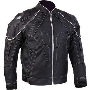 BLOUSON - VESTE Blouson Moto Textile Protections Coupe-Vent Respir