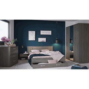 CHAMBRE COMPLÈTE  Chambre à coucher adulte en panneaux de particules