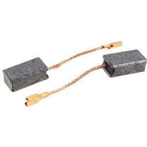 4x12 2x Balais Charbon pour de nombreux Hitachi électro-Outils//Moteur Charbon 6,4x7 4 mm