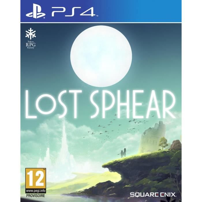 Lost Sphear Jeu PS4