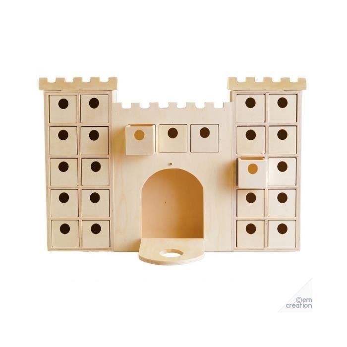 Artemio - Château à décorer avec casier