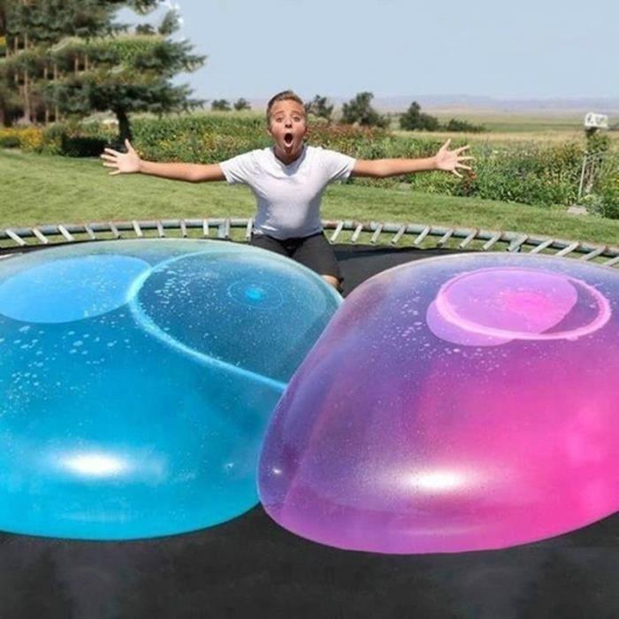 51 pouces ballon gonflable gonflable, jouet drôle de ballon de bulle d'eau, pour le jeu extérieur de ballon de plage d'été d'enfants