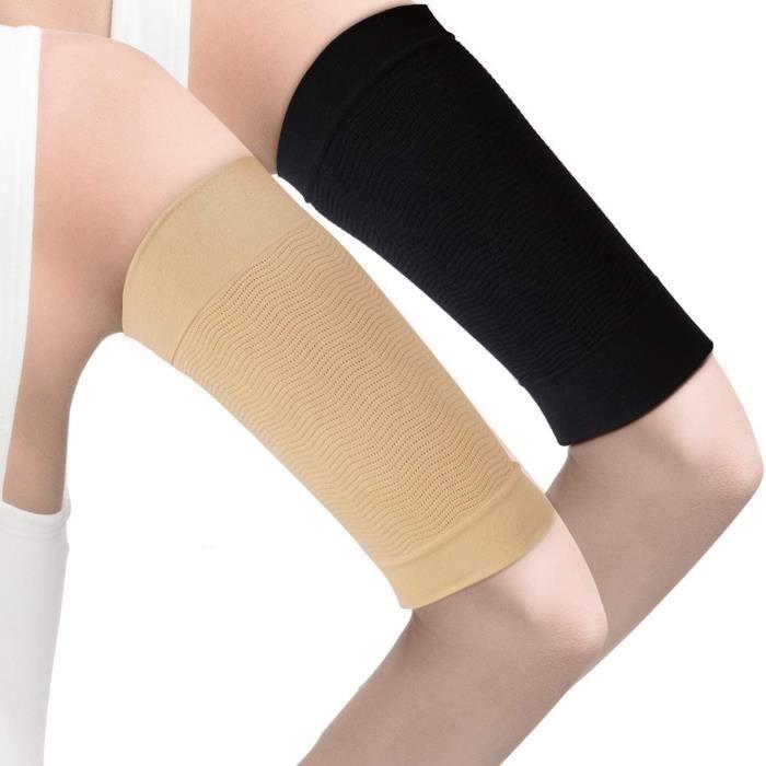 4 paires minceur bras manches bras élastique compression bras Shapers Sport Fitness bras Shapers pour femmes filles perte de poids