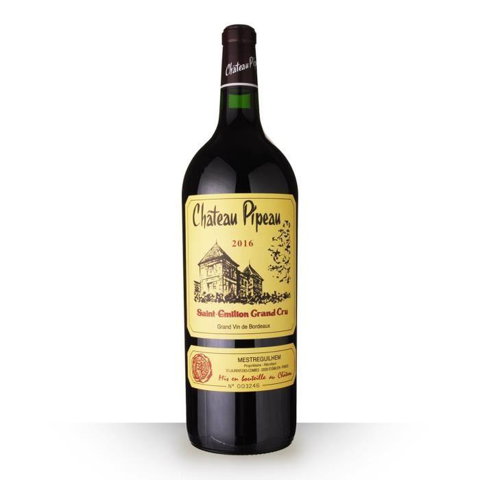 Magnum Château Pipeau 2016 AOC Saint-Emilion Grand Cru - 150cl - Vin Rouge