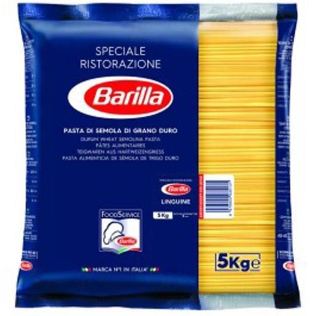 BARILLA Pâtes Linguine - Paquet de 5 kg