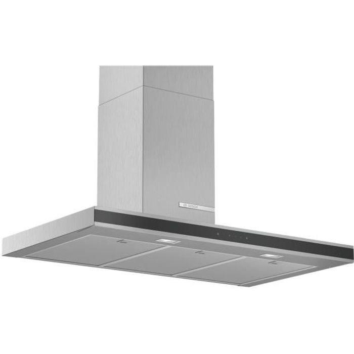 Bosch Serie 4 DWB96FM50 Hotte hotte décorative largeur : 90 cm profondeur : 50 cm extraction et recirculation (avec kit de…